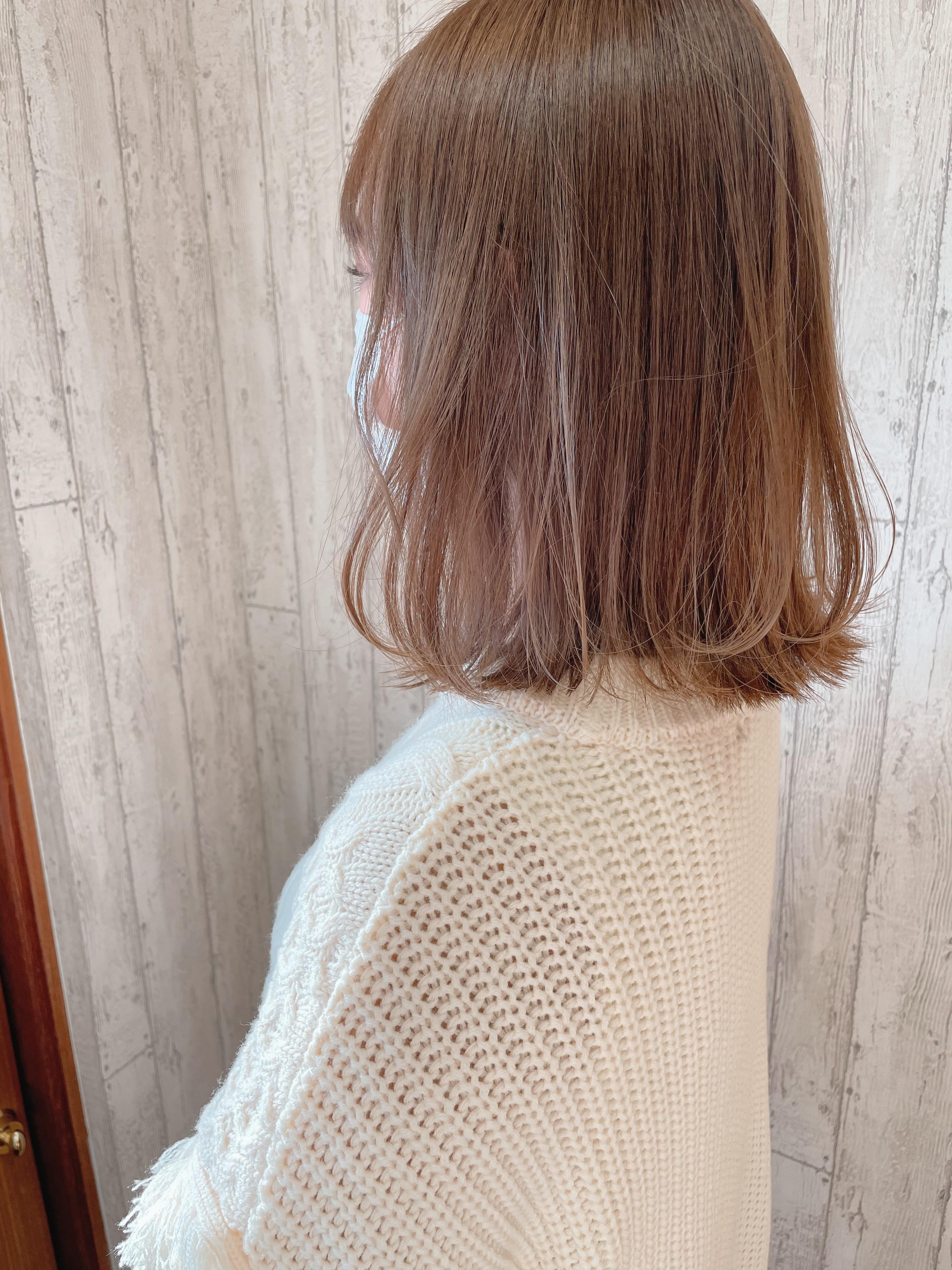 巻き髪で雰囲気の違いをたのしみましょう♪